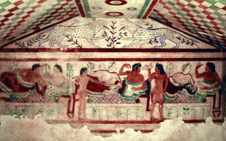 THE ETRUSCAN TOMB PAINTINGS OF TARQUINIA: a precious treasure unique in the world. Things to do in Tarquinia