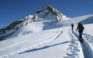 Silent immersion in white Nature on snowshoes or alpine skiing. Things to do in Ivrea