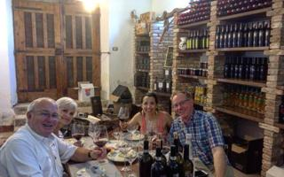 Wine tasting at the wine cellar. Things to do in Montemerano