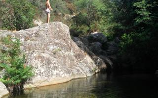 A swim in the natural pools of Mount Limbara . Things to do in Tempio Pausania