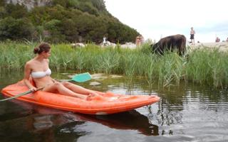 Kayak. Things to do in Dorgali