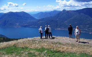 LAKE COMO : WITH  EYES OF AN EAGLE - THE GENTLE GIANT. Things to do in Casargo (Lecco)