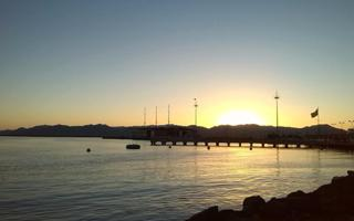 Cycling through Cagliari at sunset. Things to do in Cagliari