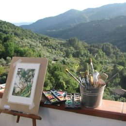 Drawing outdoors. Things to do in Pescia