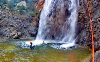 Canyoning in Rio Pitrisconi. Things to do in San Teodoro