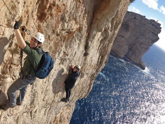 Via Ferrata Cabirol. Things to do in Alghero